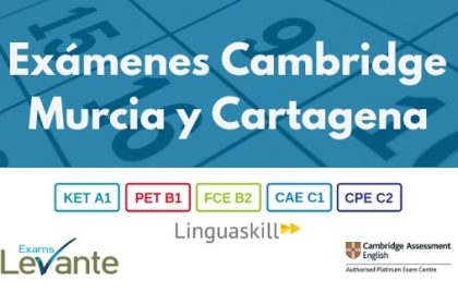 Cambridge Exams Murcia Cartagena